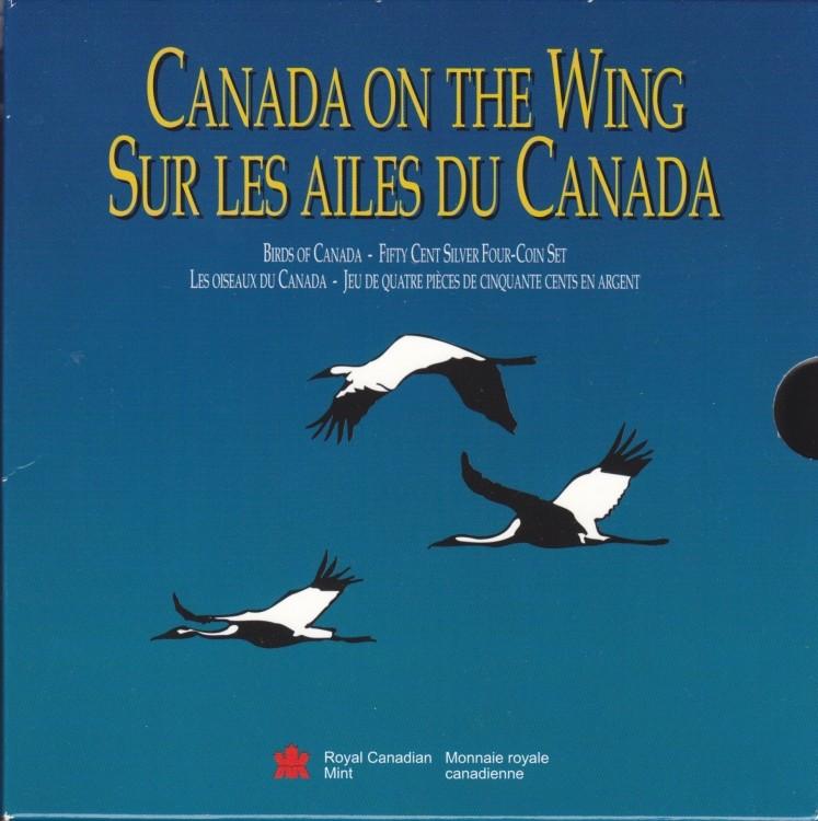 1995 Proof 50 cent Birds of Canada Set