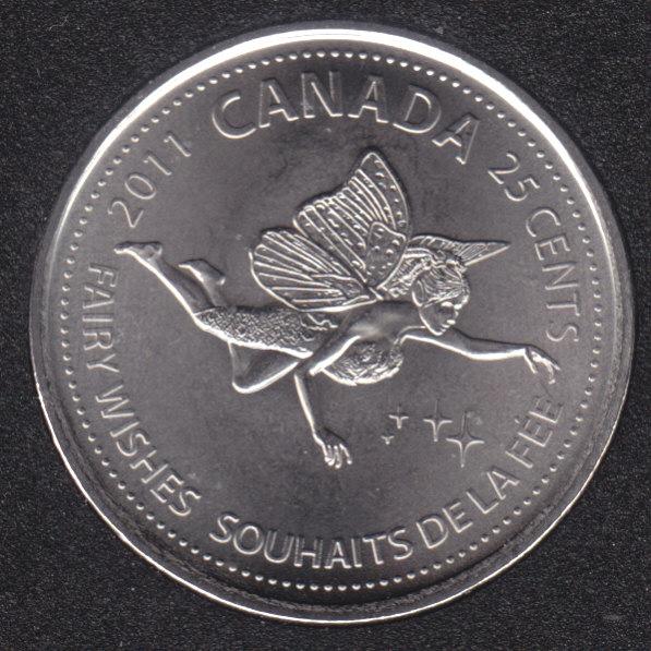 2011 - NBU - Fée des Dents - Canada 25 Cents