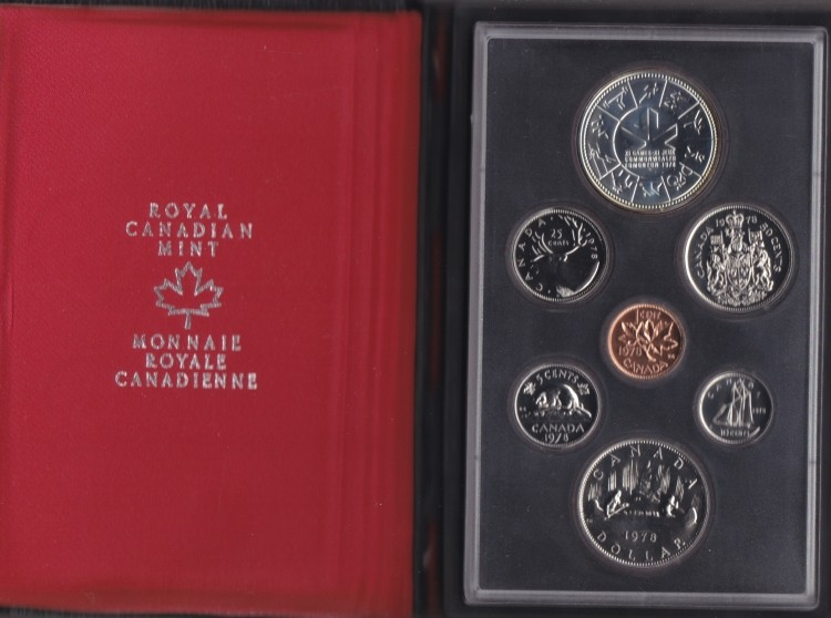 1978 CANADA DOUBLE DOLLAR SPECIMEN SET