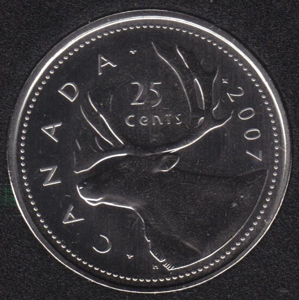 2007 - Specimen - Canada 25 Cents
