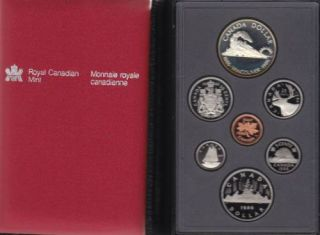 1986 CANADA DOUBLE DOLLAR PROOF SET