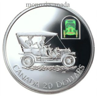 2001 - $20 - Transportation Land - The Russell''Light Four'' Proof Silver