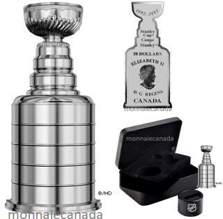 2017 - $50 - 3 oz. Pure Silver Coin - 125th Anniversary of the Stanley Cup®