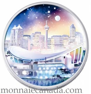 2006 - $20 Fine Silver Coin Pengrowth Saddledome - TAX exempt