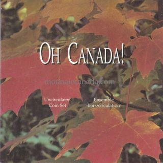 1996 Oh Canada Uncirculated Set - 6 Coins Set