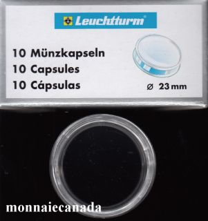 COIN CAPSULES 23 MM