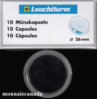 COIN CAPSULES 26 MM