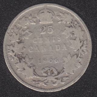 1906 - Canada 25 Cents