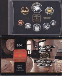 2001 Proof SEt - the National Ballet of Canada.