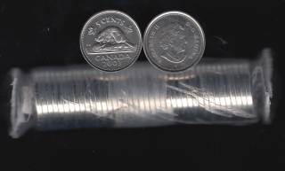 2003 Canada 5 Cents - NE - 40 Coins - B.UNC