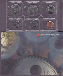 1999 P -  Plated Test Coin Set