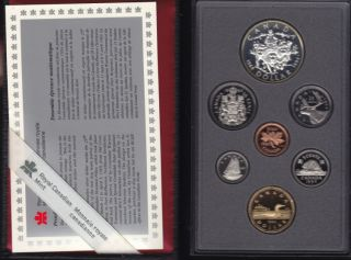 1994 CANADA DOUBLE DOLLAR PROOF SET