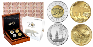 2016 - 4-Coin Set – 20 Years in the Minting