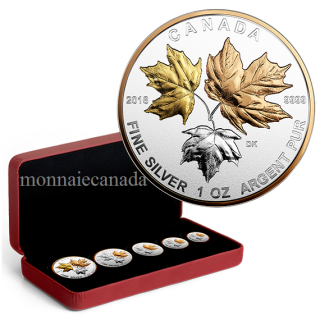2016 - Fine Silver 5-Coin Fractional Set – A Historic Reign