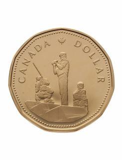 1995 -  Peacekeeping Proof Canada Dollar
