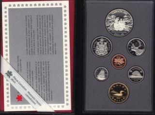 1989 CANADA DOUBLE DOLLAR PROOF SET