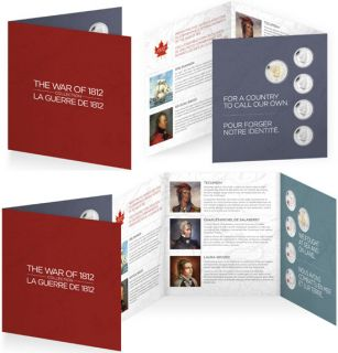 2013 - The War of 1812 Commemorative Gift Set