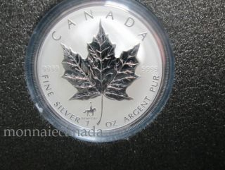 1998 Canada $5 Dollars Fine Silver - RCMP Privy Mark