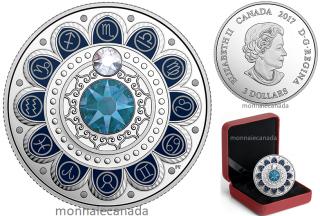 2017 - $3 - Pure Silver coin – Zodiac - Scorpio