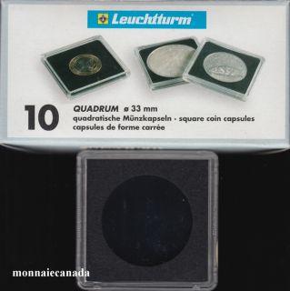 Capsules QUADRUM 33 MM