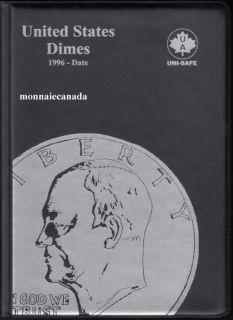 US Coins Album 10 Cents - 1996-Date