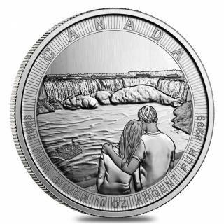 2017  Canada $50 Fine Silver - 10 OZ - Niagara Falls - No Tax