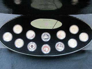 2000 -25 Cents - Sterling Silver Proof Millennium Set