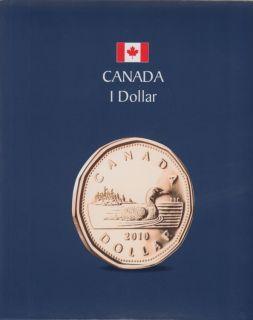 KASKADE Canadian Coin Albums - 1 Dollar