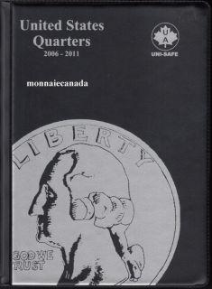 US Coins Album 25 Cents - 2006-2011