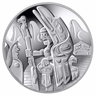 2005 - $30 - Sterling Silver - Totem Pole