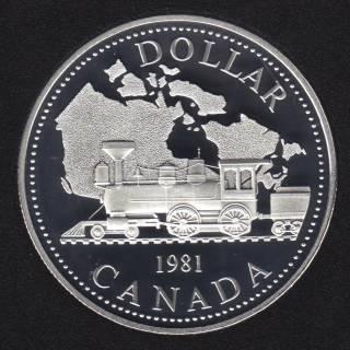 1981 - Proof - Canada Silver Dollar