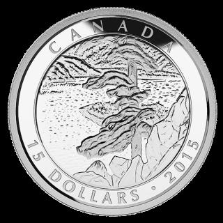 2015 - $15 - Fine Silver 3-Coin Set - Artwork by Franklin Carmichael