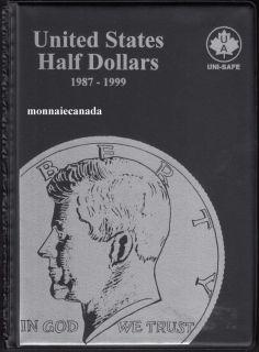 US Coins Album 50 Cents - 1987-1999
