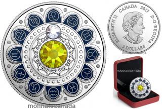2017 - $3 - Pure Silver coin – Zodiac - Leo