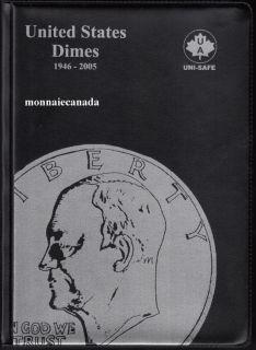 US Coins Album 10 Cents - 1946-2005