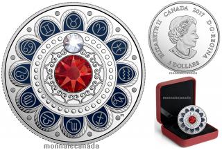2017 - $3 - Pure Silver coin – Zodiac - Taurus