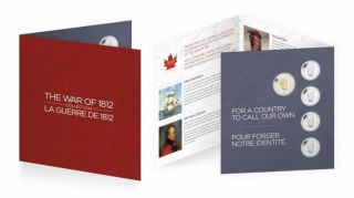 2012 - The War of 1812 Commemorative Gift Set