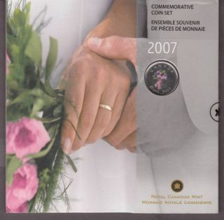 2007 - 25 Cents -  Gift Set  Wedding