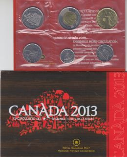 2013 - Uncirculated Set - DOUBLING ON LOONIE
