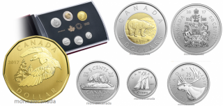 2017 - 6-Coin Specimen Set – Snow Goose