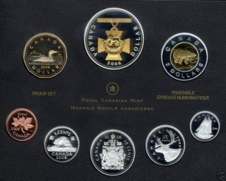 2006 PROOF SET - 150TH ANNIVERSARY OF THE VICTORIA CROSS