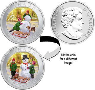 2013 - 50c - 3D Snowman