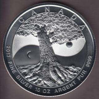 * 2017 * Canada $50 Fine Silver - 10 OZ - Tree of Life - No Tax