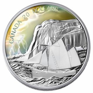 2006 - $20 fine silver tall ships collection to dream upon a sail the ketch