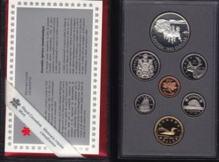 1992 CANADA DOUBLE DOLLAR PROOF SET