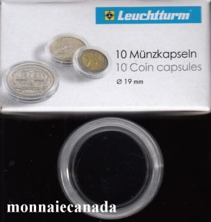 COIN CAPSULES 19 MM