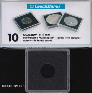 Capsules QUADRUM 17 MM