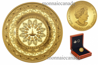 2015 - $200 - 1 oz. Pure Gold Coin – Diwali: Festival of Lights