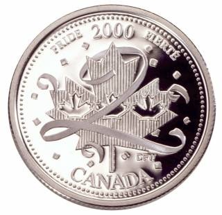 2000 Canada 25 Cents Sterling Silver Proof - Pride