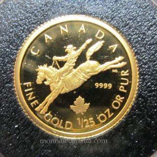 2006 - 50 cents - 1/25 ounce gold coin Cowboy